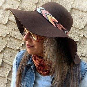 NWT Missoni for Target Wool Felt Floppy Hat Brown